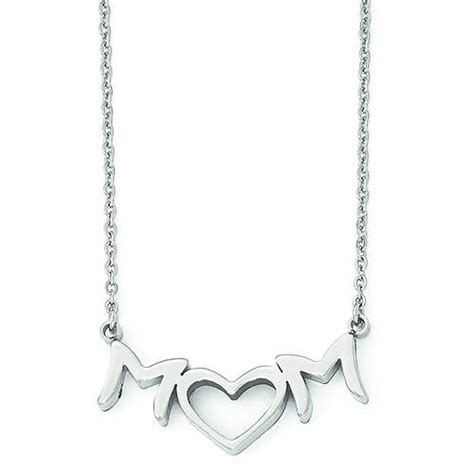 30047 now pay later furniture endearing stainless steel necklace stoneberry