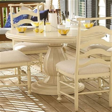 paula deen river house table paula deen river house round pedestal dining table river