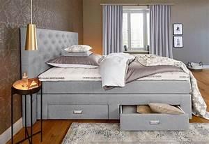 Extra Hohes Bett : gmk home living boxspringbett aivi mit schubk sten online kaufen otto ~ Markanthonyermac.com Haus und Dekorationen