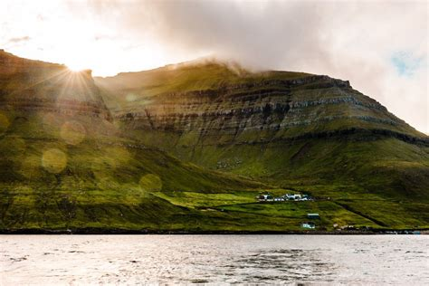faroe islands kalsoy  kunoy islands  instants