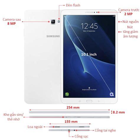Máy Tính Bảng Samsung Galaxy Tab A T585 Trắng Giá Tốt Tại