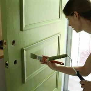 comment peindre une porte d39entree bricobistro With comment peindre une porte