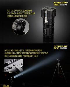 Lampe Torche Longue Portée : lampe torche nitecore rechargeable tm26gt 3500lumens ultra ~ Dailycaller-alerts.com Idées de Décoration