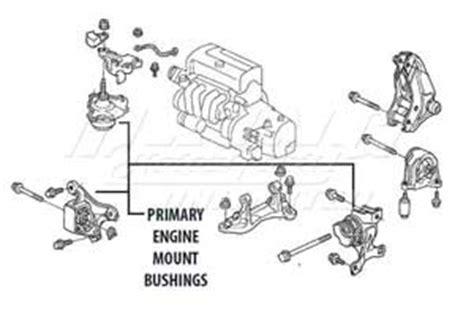 Acura Legend Motor Mount Diagram by Mugen Engine Mount Set 3 Set Rear Mount Not