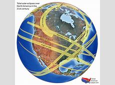 The Next Solar Eclipse Eclipse Maps for the Next 50 Years