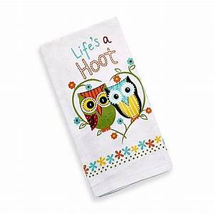 Buy kay dee designs life39s a hoot kitchen towel from bed for Kay dee designs kitchen towels