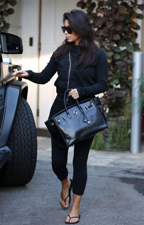 kim kardashian  loves  hermes  black birkin