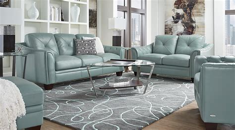 Slate Grey Sofa Living Room Decor : Blue, Slate & White Living Room Furniture & Decorating Ideas
