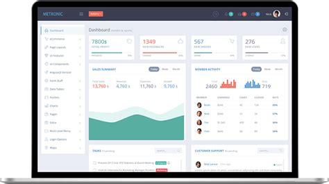 admin dashboard template top 20 material design admin templates for free premium dev resources