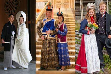 traditional wedding dresses around the world pictures