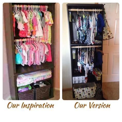 from a inspiration diy baby closet from