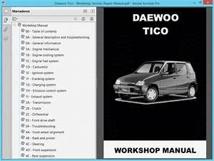 Daewoo Tico Service Manual