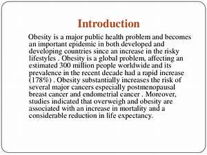 Obesity proposal