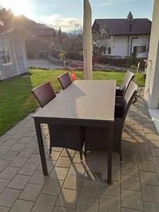 Gartentisch Mit Stühlen : gartentisch mit 4 st hlen kaufen auf ricardo ~ A.2002-acura-tl-radio.info Haus und Dekorationen