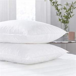 Silentnight duck feather pillow 2 pack for Duck or goose feather pillows which is better