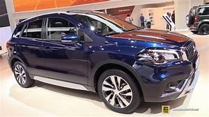 Suzuki Sx4 Cross : 2018 suzuki sx4 s cross exterior and interior walkaround 2017 frankfurt auto show youtube ~ Medecine-chirurgie-esthetiques.com Avis de Voitures