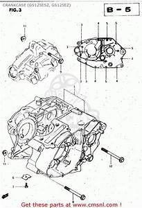 Suzuki Gs125es 1983  D   E01 E02 E04 E06 E15 E18 E24 E30