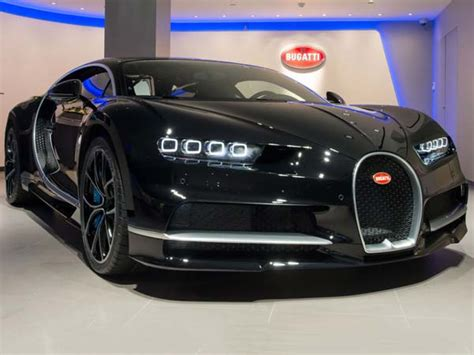 Bugatti's London Dealership Reopens For The New Chiron