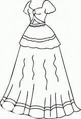 Coloring Clothes Printable Clothing Clipart Dresses Colouring Barbie Preschoolers Sheets Winter Getcolorings Popular Robe Worksheets Library Wecoloringpage Coloringhome sketch template