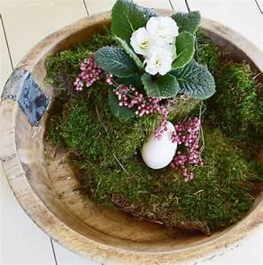 Schale Dekorieren Frühling : wie ihr eine schale kreativ und fr hlingshaft mit naturmaterialien dekoriert ostern ~ Cokemachineaccidents.com Haus und Dekorationen