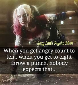 Count to ten, w... Harley And Joker Quotes