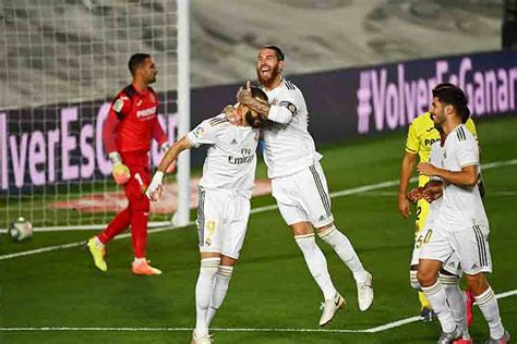 VIDEO: Real Madrid clinch La Liga title after Benzema's ...