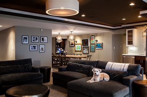 Basement Interior Design Gallery  St Louiscure Design