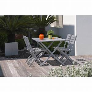 table table de jardin naterial antibes meilleures With marvelous table de jardin aluminium leroy merlin 0 table de jardin naterial pratt rectangulaire gris leroy