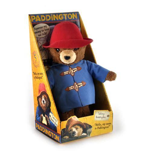 Paddington Bear Movie Talking Toy   Pink Cat Shop