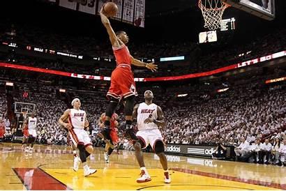 Rose Derrick Lebron Dunk James Vertical Bulls