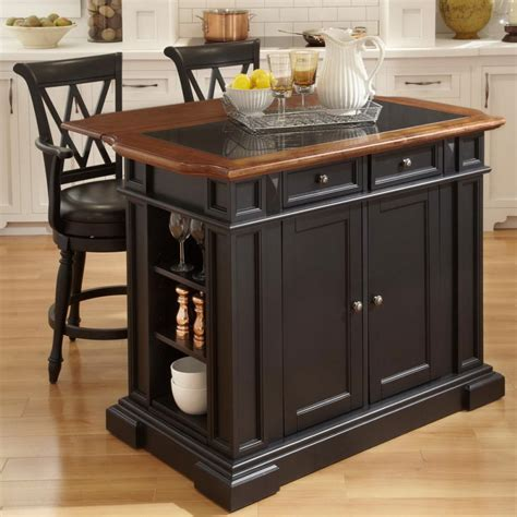 kitchen islands stools fascinating portable kitchen island with stools including