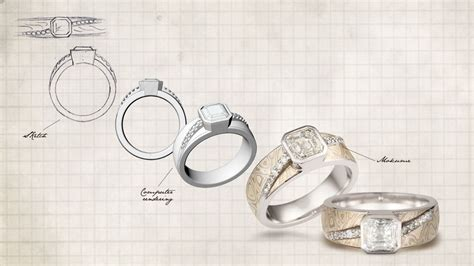 design a ring custom ring options