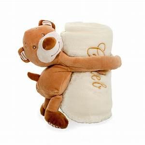 Teddy Fleece Decke : bestickte baby decke mit teddyb r fotodecke blanket ~ Orissabook.com Haus und Dekorationen