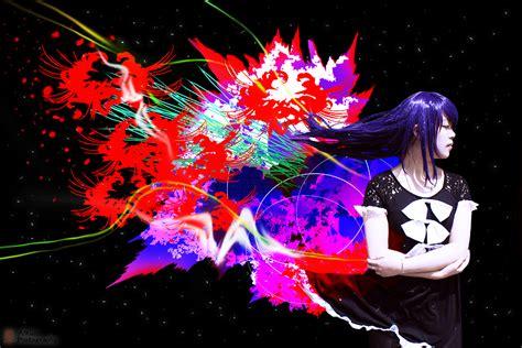Tokyo Ghoul Touka Wallpaper Hd Rize Kamishiro By Alkun00 On Deviantart
