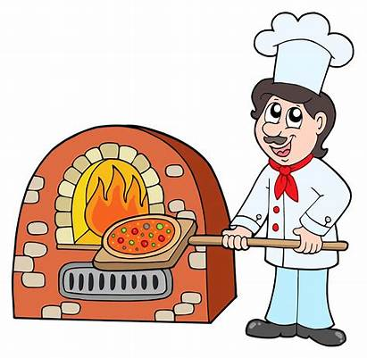 Chef Clipart Pizza Baking Baker Cooking Bakery