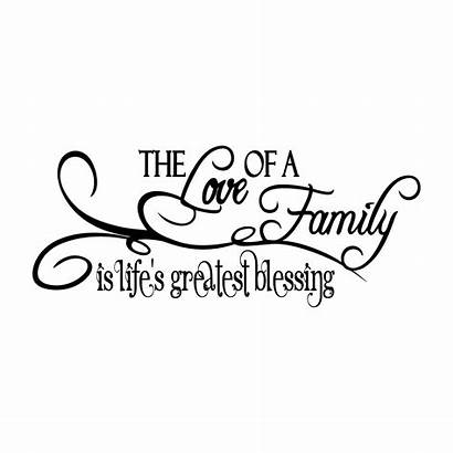 Greatest Lifes Blessing Decal Border Quotes Gift