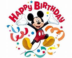 Mickey Mouse clipart happy birthday - Pencil and in color ...