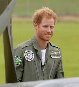 Prince Harry shows off beard at Battle of Britain flypast