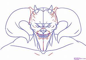Devil Horns Drawing