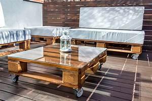 Balkontisch Selber Bauen : gartentisch aus paletten selber bauen ~ Articles-book.com Haus und Dekorationen