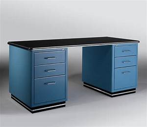 Designer retro office desk furniture wharfside office for Retro office desk