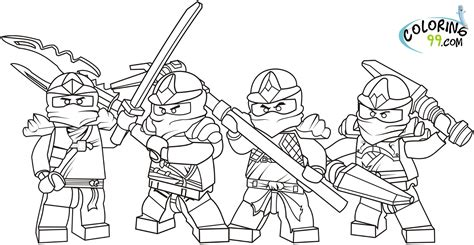 lego ninjago coloring pages  printable pictures