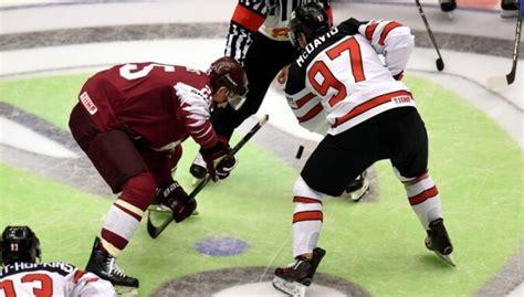 Latvijas hokeja izlase PČ Rīgā atklās ar maču pret Kanādu ...