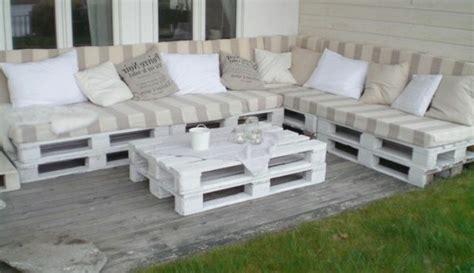 balkon sofa sofa aus paletten eine perfekte vollendung des interieurs