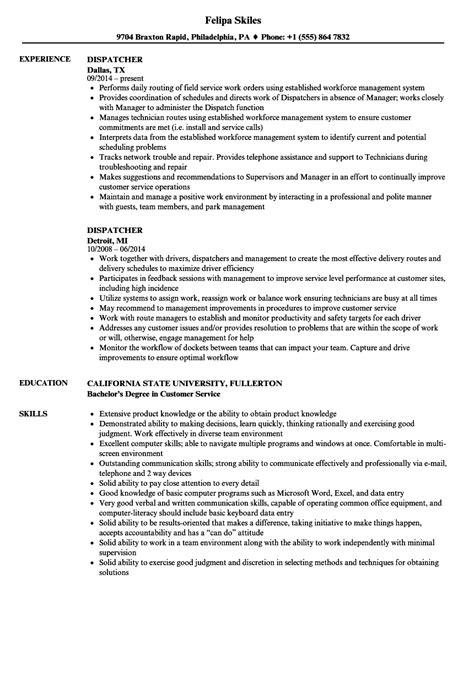 Dispatcher Resume Samples  Velvet Jobs. What To Say In Video Resume. Experienced Registered Nurse Resume. Examples Of Resume Objective. Finance Director Resume. Concrete Laborer Resume. Teacher Assistant Duties Resume. Desktop Support Sample Resume. All Resume Format
