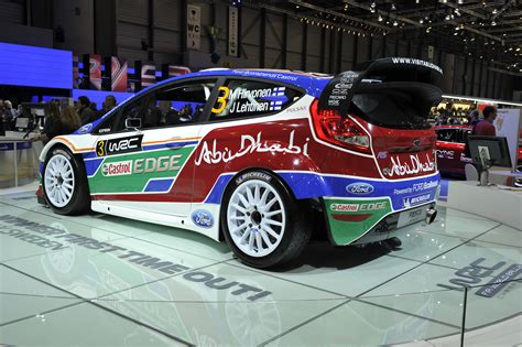 Ford Fiesta Rs Wrc Geneva 2018 Picture 50318