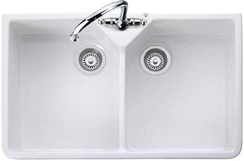 rangemaster bowl cdb800wh ceramic kitchen sink