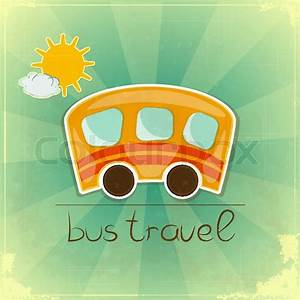Fun Reisen Einverständniserklärung : fun reisen bus karte vektorgrafik colourbox ~ Themetempest.com Abrechnung