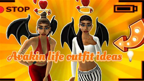 outfit avakin names clothes