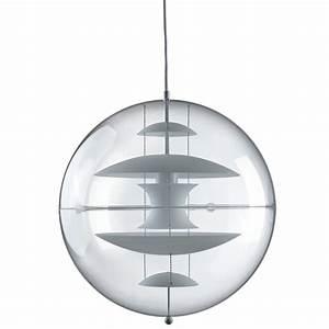Verpan vp globe glass pendant lamp verner panton